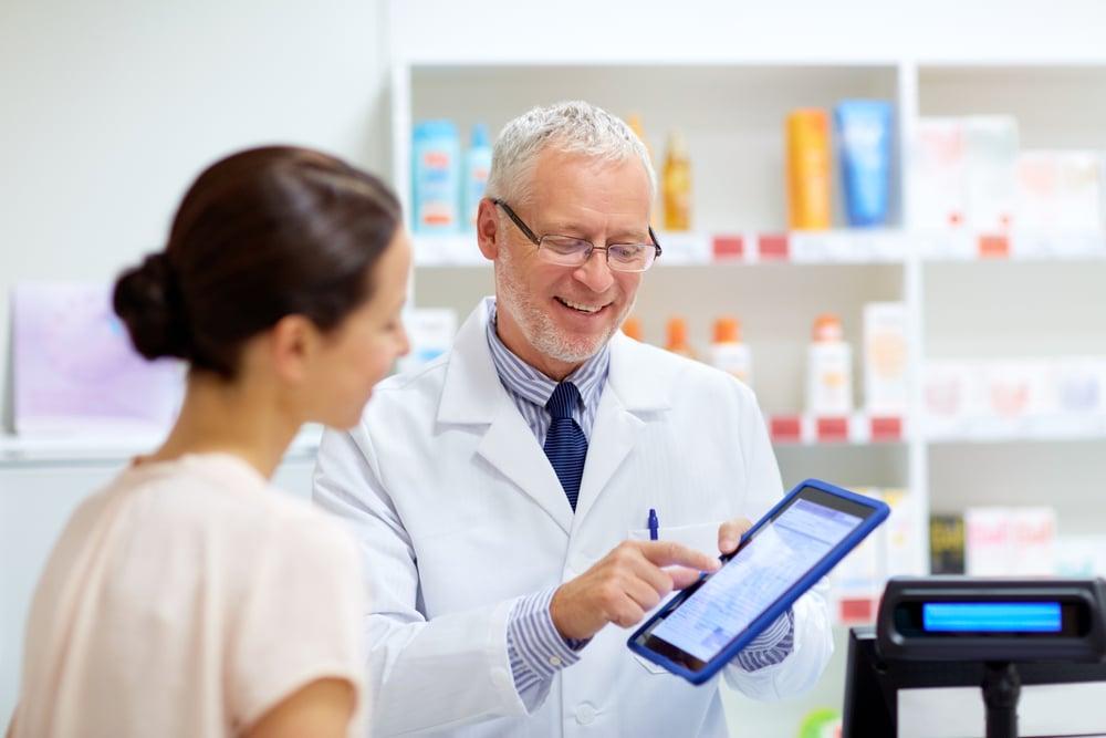 Etapas de um processo de vendas na farmácia